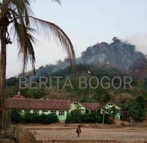 Kebakaran Hutan Gunung Kandaga Tanjungsari Bogor 209