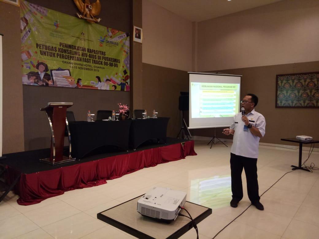 Dinkes Kabupaten Bogor Gelar Pertemuan Peningkatkan Kapasitas Petugas Konseling HIV Aids Di Puskesmas Tahun 2019 219