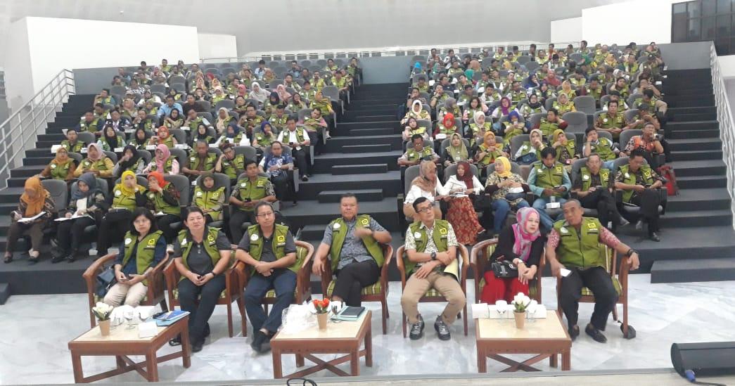 Rapat Koordinasi Penguatan Kapasitas Petugas SLRT Graha Pancakarsa 221