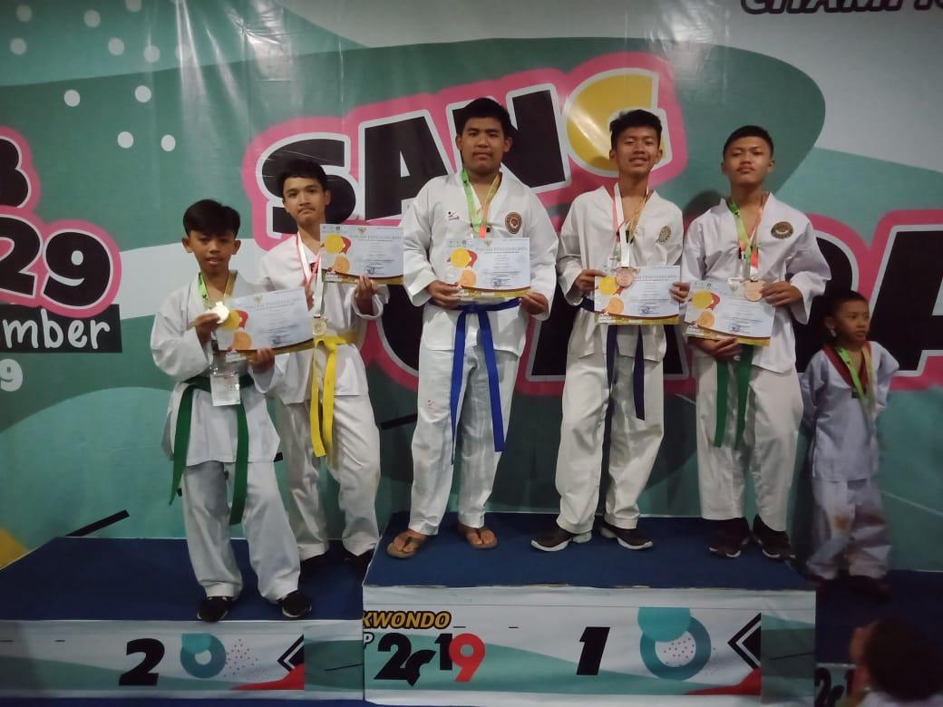 Atlit Junior D'Harits Taekwondo Megamendung Harumkan Bumi Tegar Beriman 233