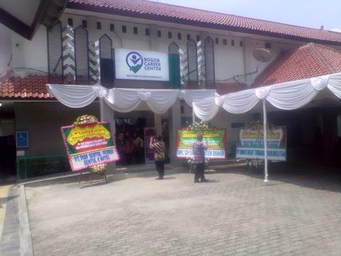 Bupati Bogor Resmikan Bogor Career Center 233
