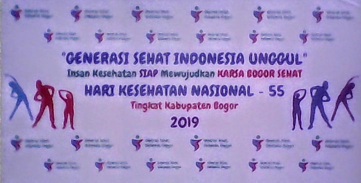 Puncak Peringatan Hari Kesehatan Nasional Ke 55 Tingkat Kabupaten Bogor Tahun 2019 225