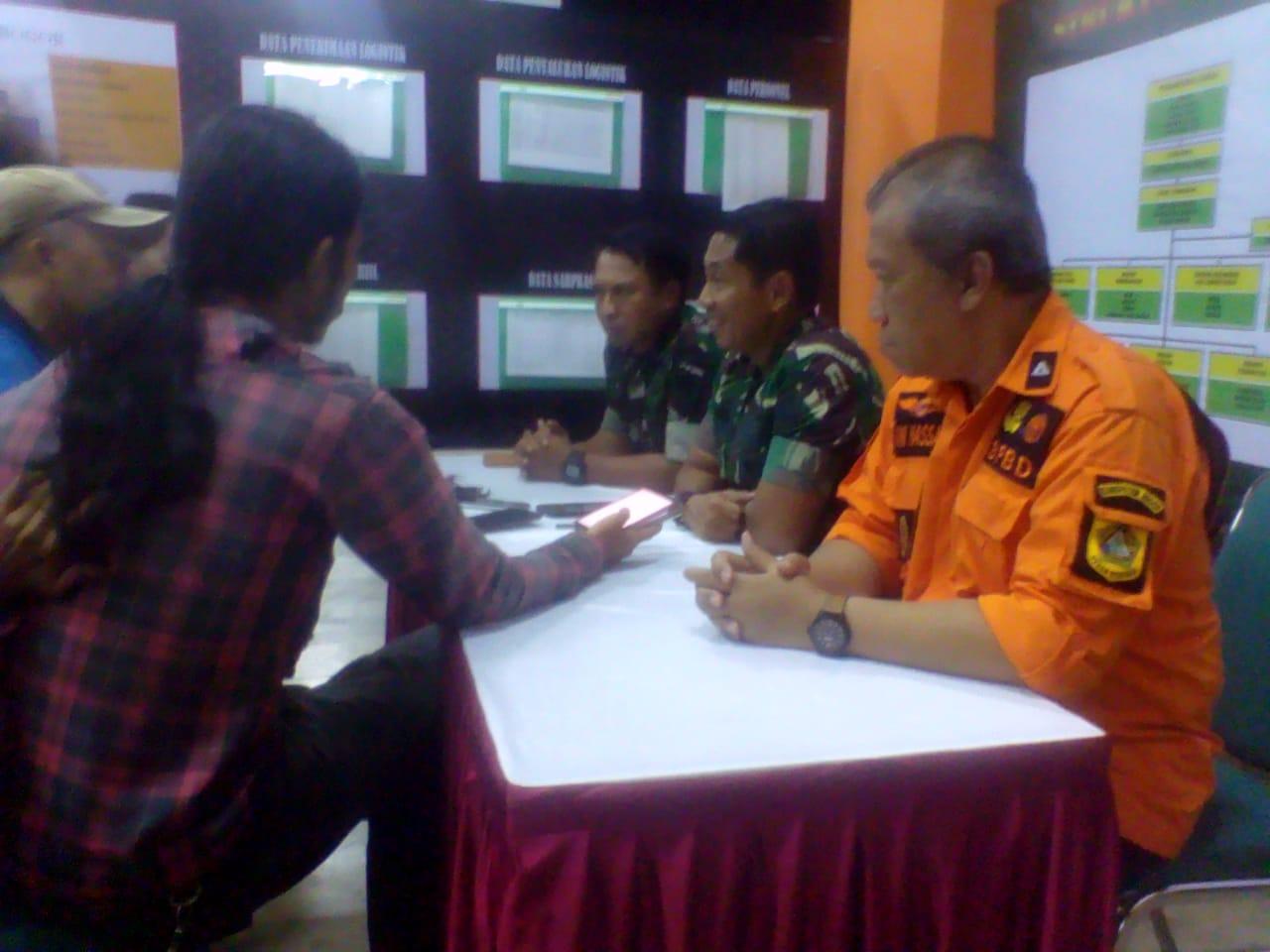 Ketua Penanggulangan Darurat Bencana Daerah Kabupaten Bogor Tegaskan Pendistribusian Bantuan Bencana Melalui Satu Pintu 235