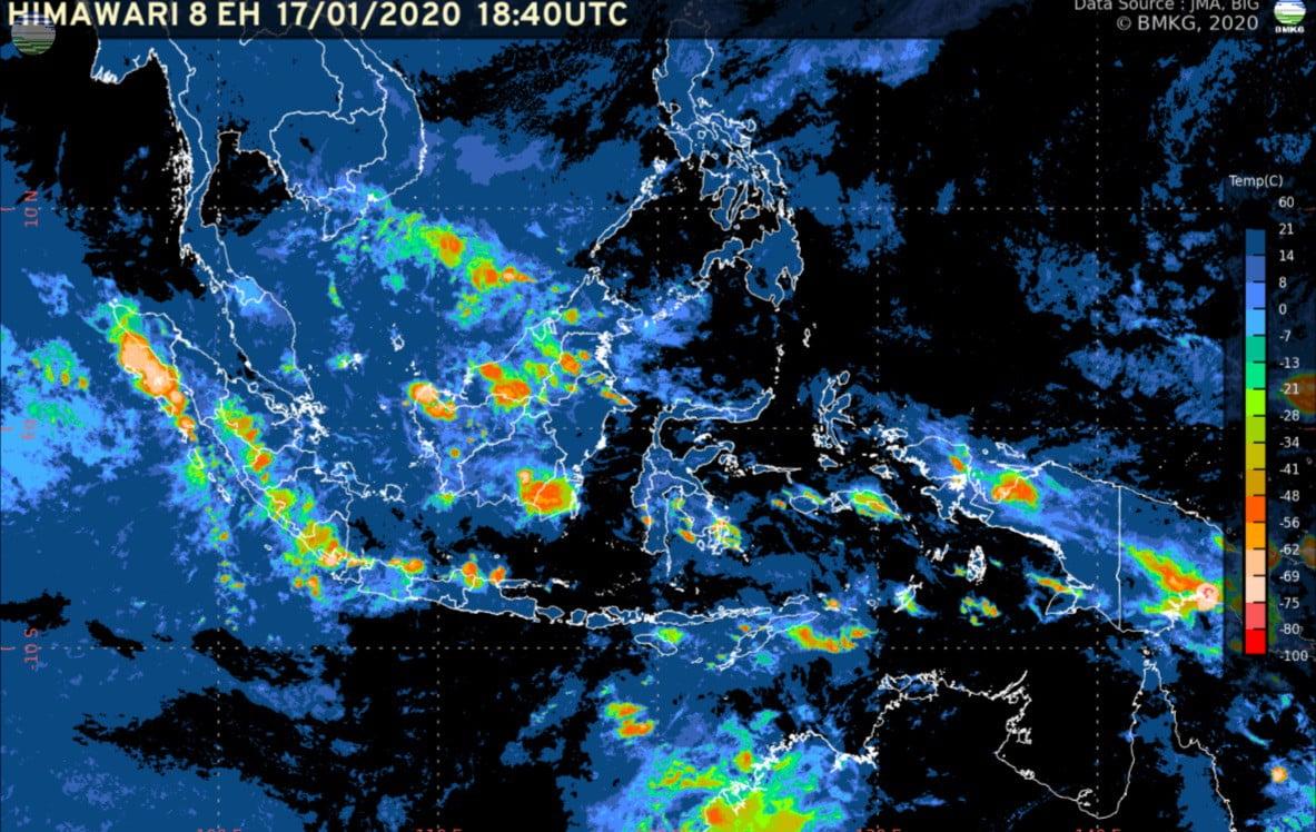 Peringatan Dini BMKG Terjadinya Hujan Lebat Di Indonesia 235
