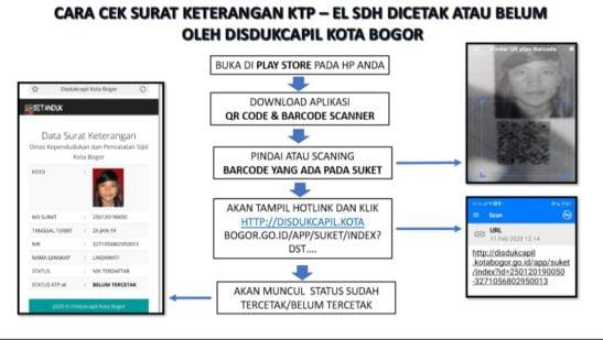 Cek EKTP Tercetak Melalui Aplikasi 237