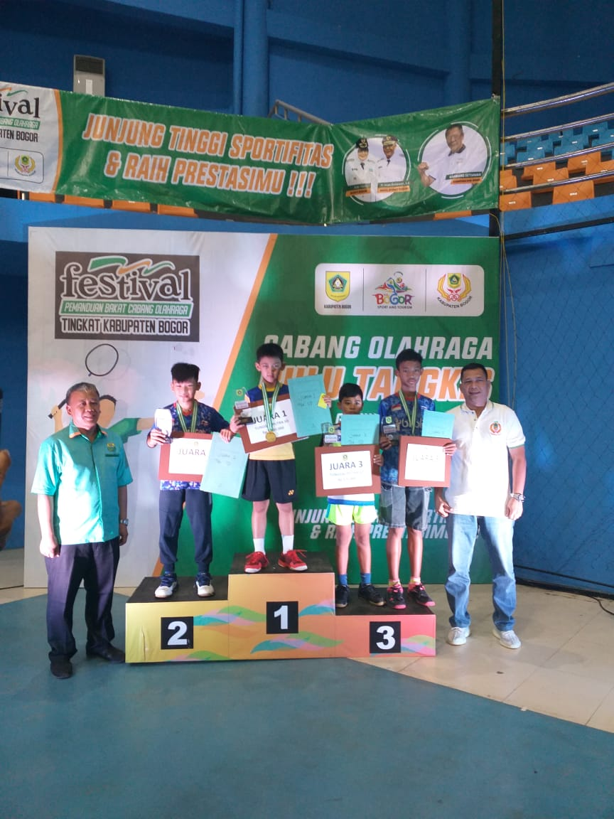 Juara Festival Bulutangkis Tahun 2020 Tingkat Kabupaten Bogor 237