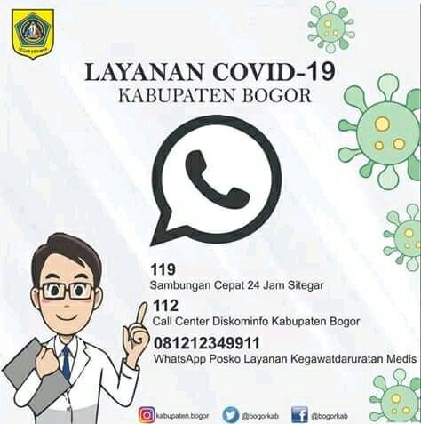 Zona Merah COVID19 Kabupaten Bogor 237