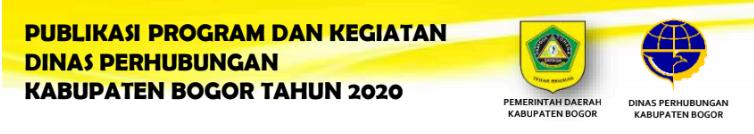 Kinerja Dinas Perhubungan Kabupaten Bogor 233