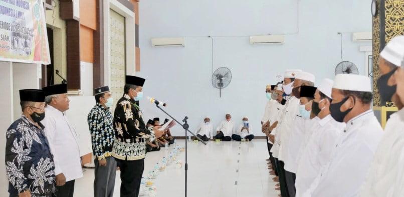 Alfedri Lantik pengurus MUI dan IPHI Kecamatan Lubuk Dalam