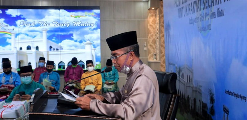 Kabupaten Siak Terima 750 sertifikat tanah program reforma agraria dari Kementerian ATR /BPN