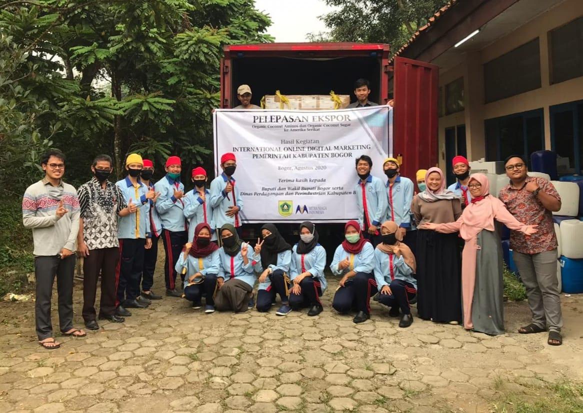 Di Tengah Pandemi Covid-19, UKM Kabupaten Bogor Ekspor ke Amerika