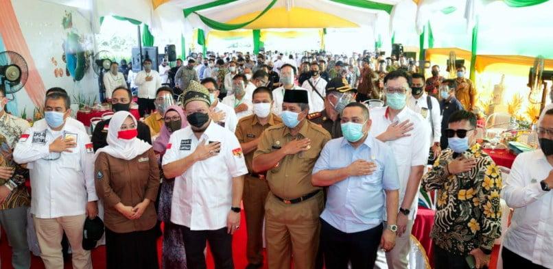 Bupati Siak Alfedri Sambut Kunjungan Kerja Ketua DPD RI ke kabupaten Siak