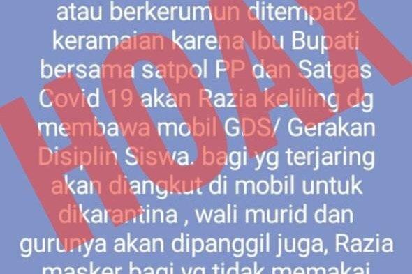 Dihantam Informasi Hoaks, Rasidah Alfedri Mengingatkan Jangan Resahkan Warga