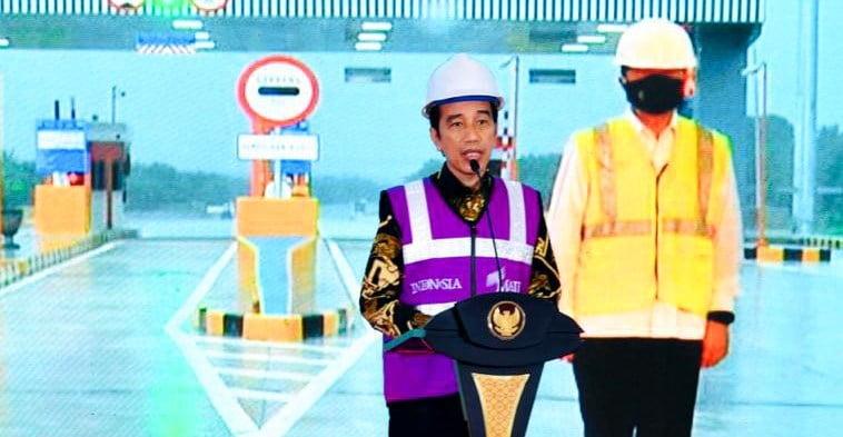 Hadiri peresmian Tol Pekanbaru – Dumai, Sekda Arfan harap perekonomian akan terus berkembang.