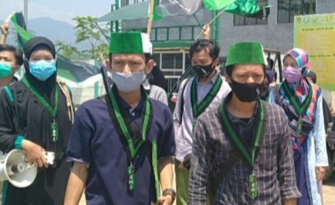 HMI MPO Bogor Unjuk Rasa Desak Proyek RSUD Dihentikan 233