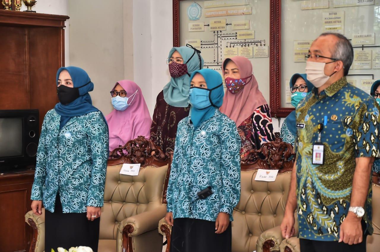 Kader PKK Kabupaten Bogor Optimis Rebut Peringkat Satu Kader Terbaik di Jawa Barat