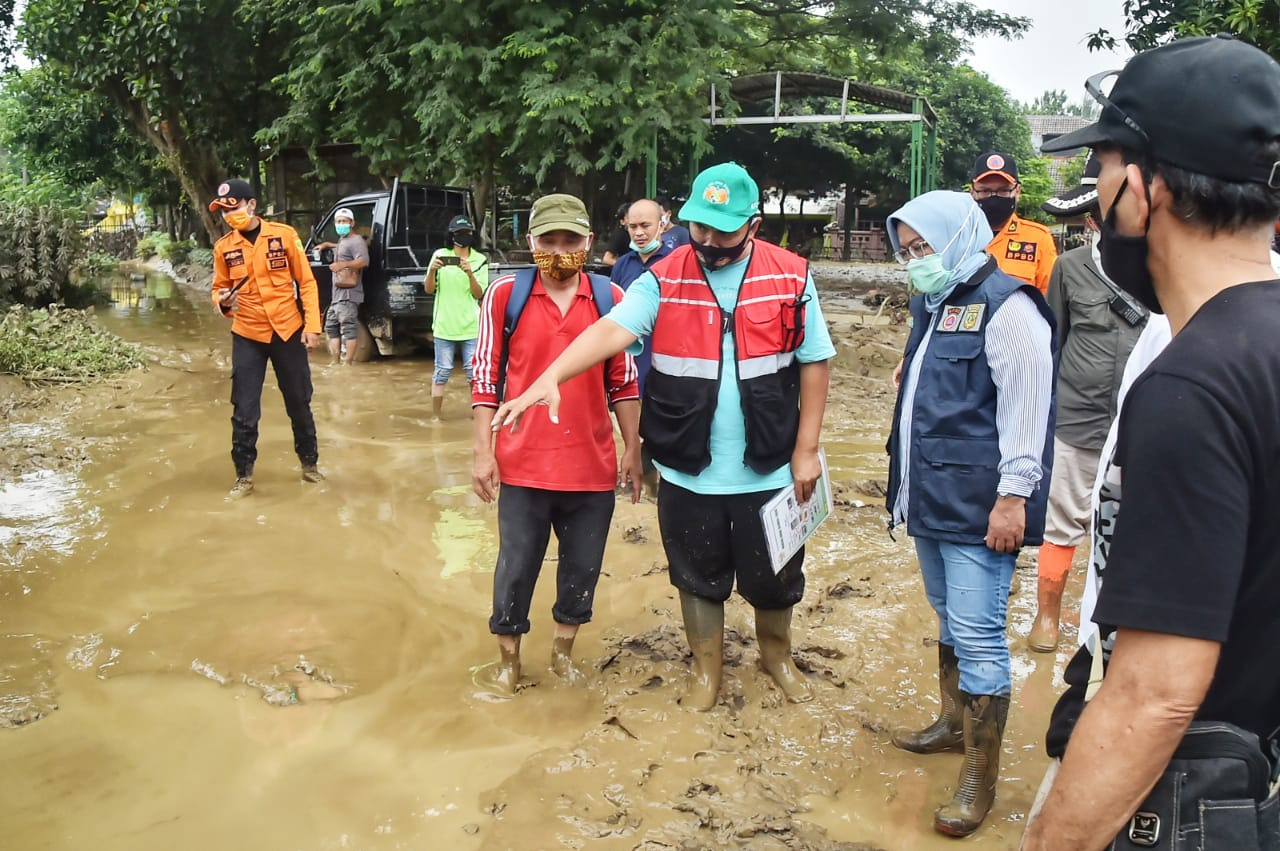 Bupati Bogor Minta Tanggulangi Banjir Bojong Kulur 233