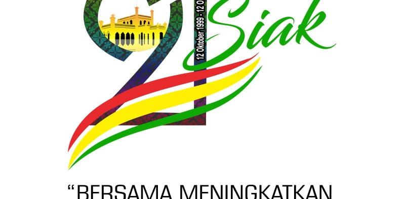 Download Logo dan Tema HUT Ke-21 Kabupaten Siak