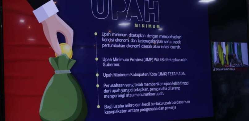 Pjs Bupati Siak Ikuti Rakor, Sinergitas Kebijakan Pemerintah Pusat dan Pelaksanaan Regulasi Omnibus Law