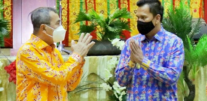 Pjs Bupati Indra Agus Lukman, hadiri puncak Gebyar Budaya Melayu Riau 2020 dan Pengukuhan FPKK Riau