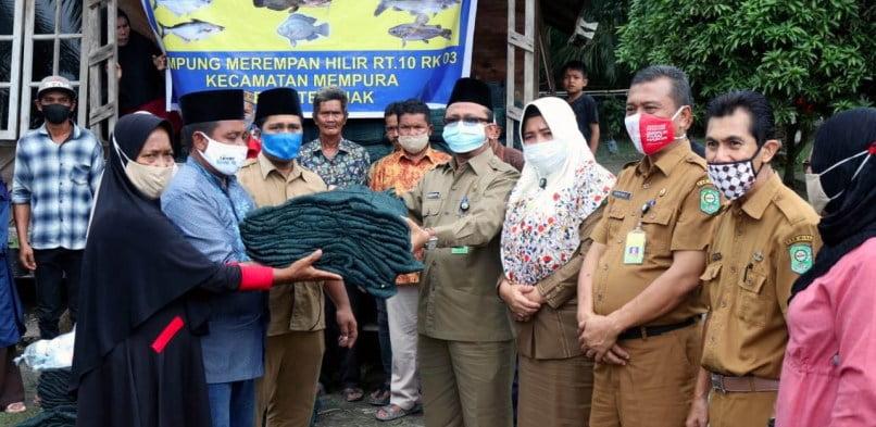 Kelompok Nelayan Merempan Hilir, Siak Dapat Bantuan dari Bank Indonesia