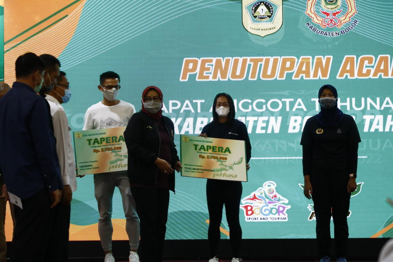 KONI Kabupaten Bogor Diminta Perhatikan Pelatih dan Atlet 231
