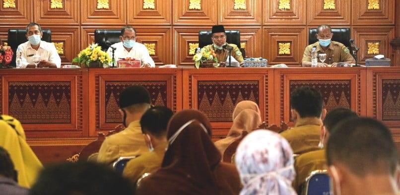 Pemkab Siak – BKPP Riau Kerjasama Meningkatkan Progres Report Kinerja Penyelenggaraan Pemerintahan Daerah Kabupaten Siak