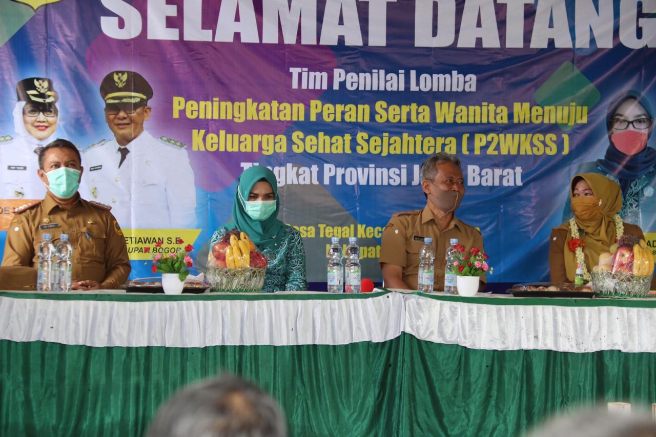 Tim Verifikasi Evaluasi Jawa Barat Nilai Program P2WKSS Kabupaten Bogor Tahun 2020 231