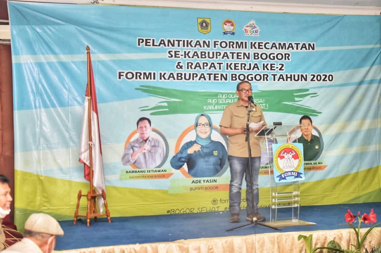 Wakil Bupati Sebut Kehadiran FORMI Sangat Relevan Ditengah Upaya Menjadikan Kabupaten Bogor sebagai The City of Sport and Tourism 233