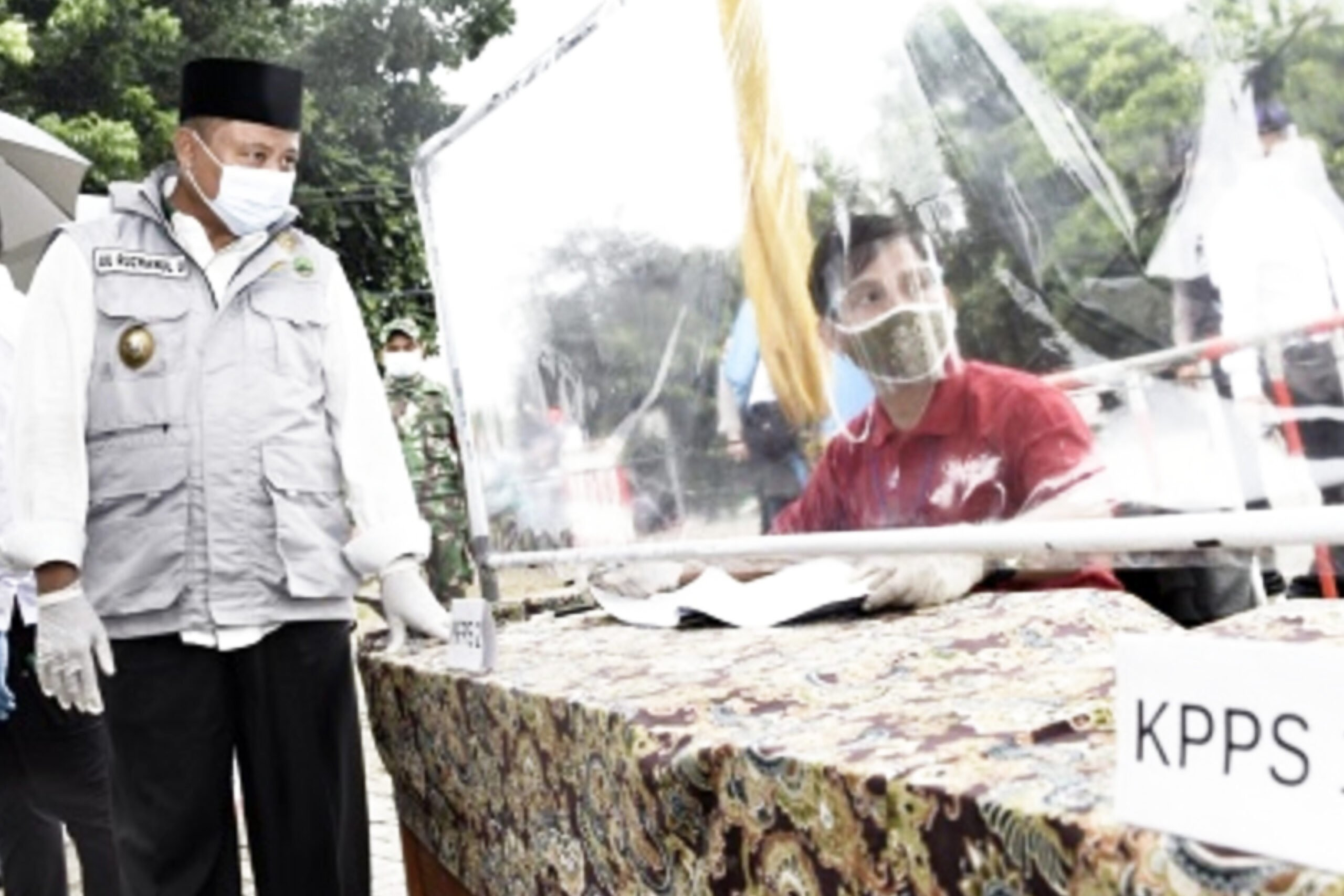 Wakil Gubernur Jawa Barat Tinjau Pilkades Serentak Tahun 2020 231
