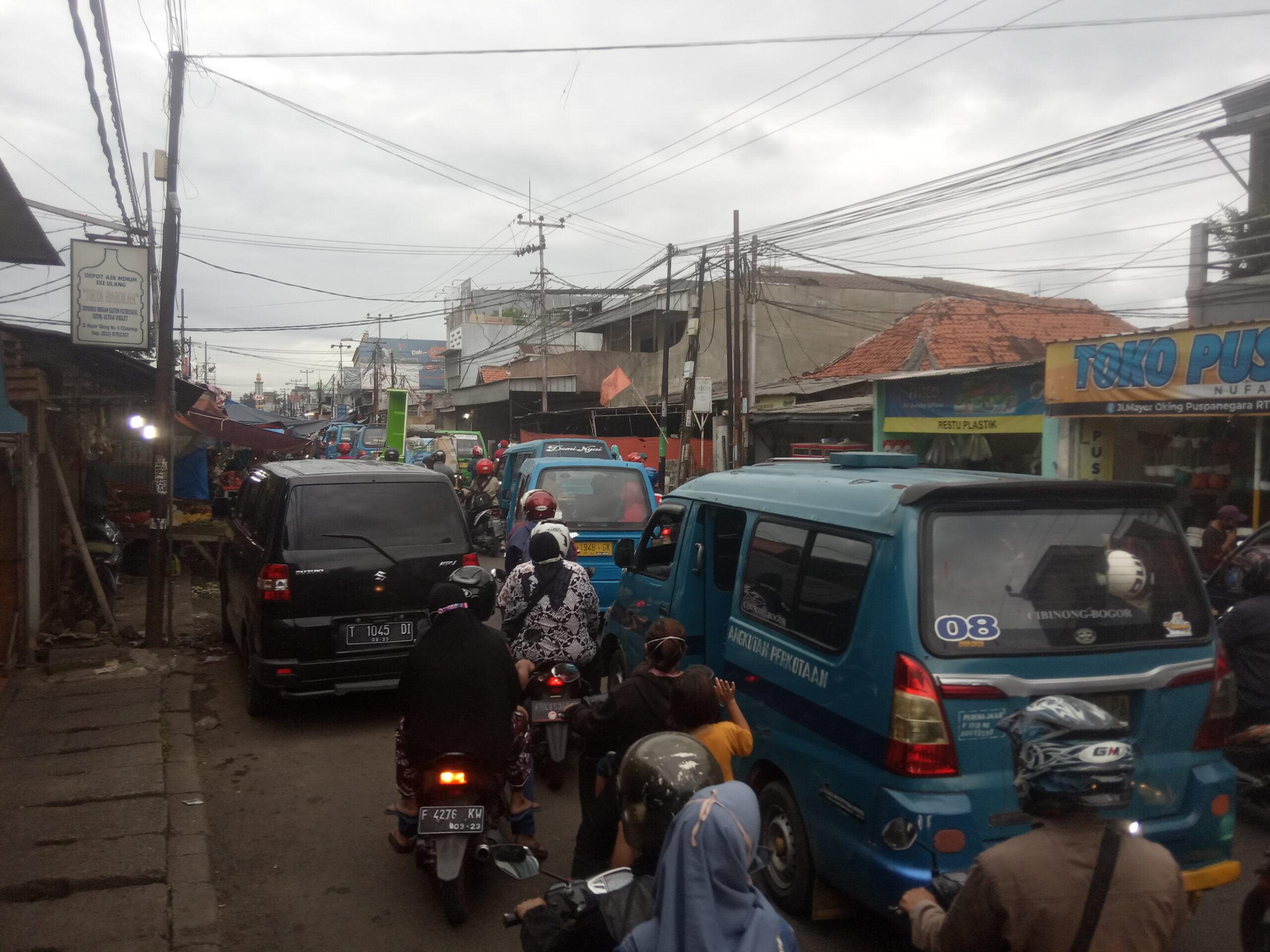 Awal Tahun 2021 PKL Masih Marak di Bogor 231