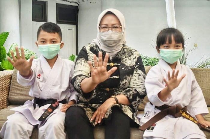 Karateka Cilik Zahira dan Zahran Harumkan Kabupaten Bogor 233