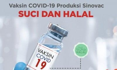Komisi Fatwa MUI Pusat Menetapkan Vaksin Covid-19 Produksi Sinovac Halal dan Suci