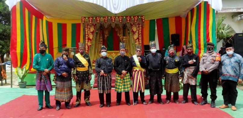 Pengurus LAMR Kecamatan Kandis Kabupaten Siak Masa Khidmad 2021-2026 Dikukuhkan