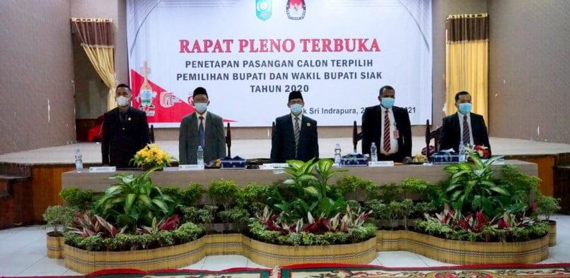 """Sekda Siak : """"Alhamdulillah Pilkada Siak tahun 2020 paling Kondusif di Provinsi Riau"""""""