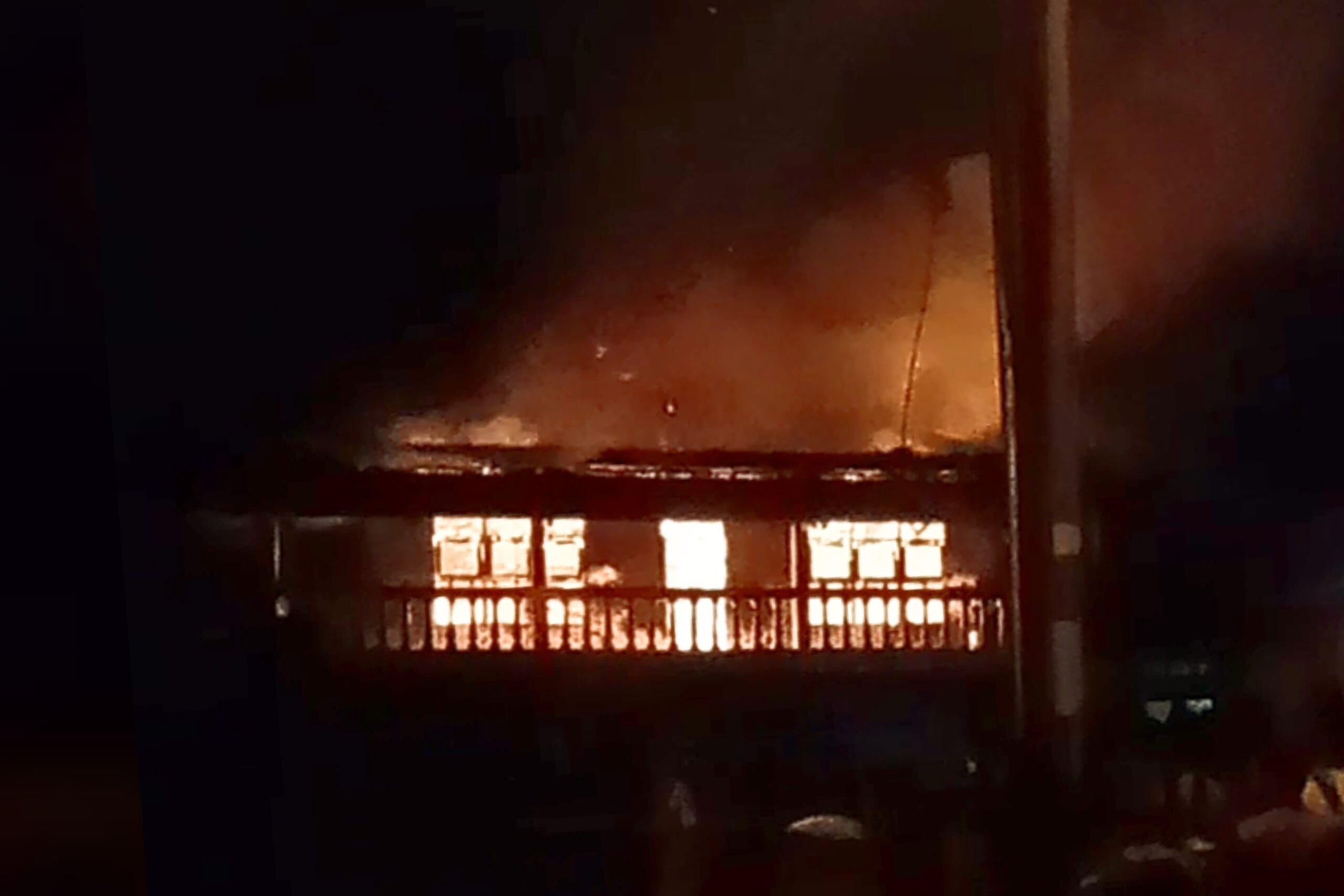 Ponpes Raudlatul Ulum Ciampea Bogor Terbakar 233