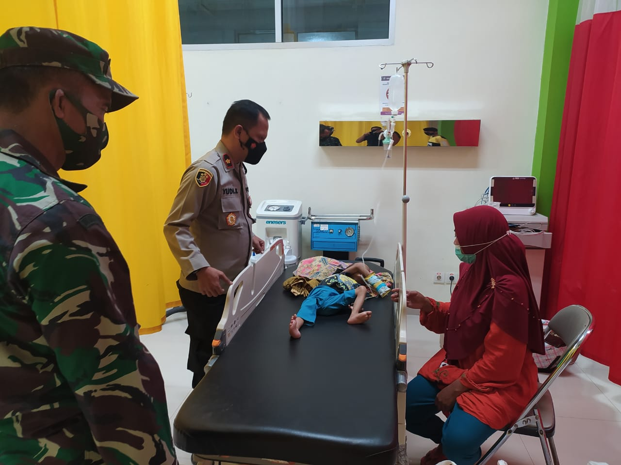 Muspika Cigudeg Bantu Anak Penderita Gizi Buruk 235