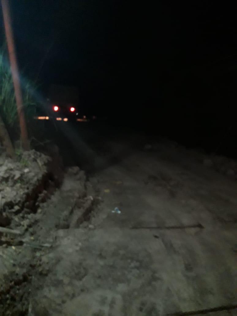 Segel Satpol PP Hilang Dipergoki Warga Truk Terobos Area Terlarang Galian Kadumanggu 235