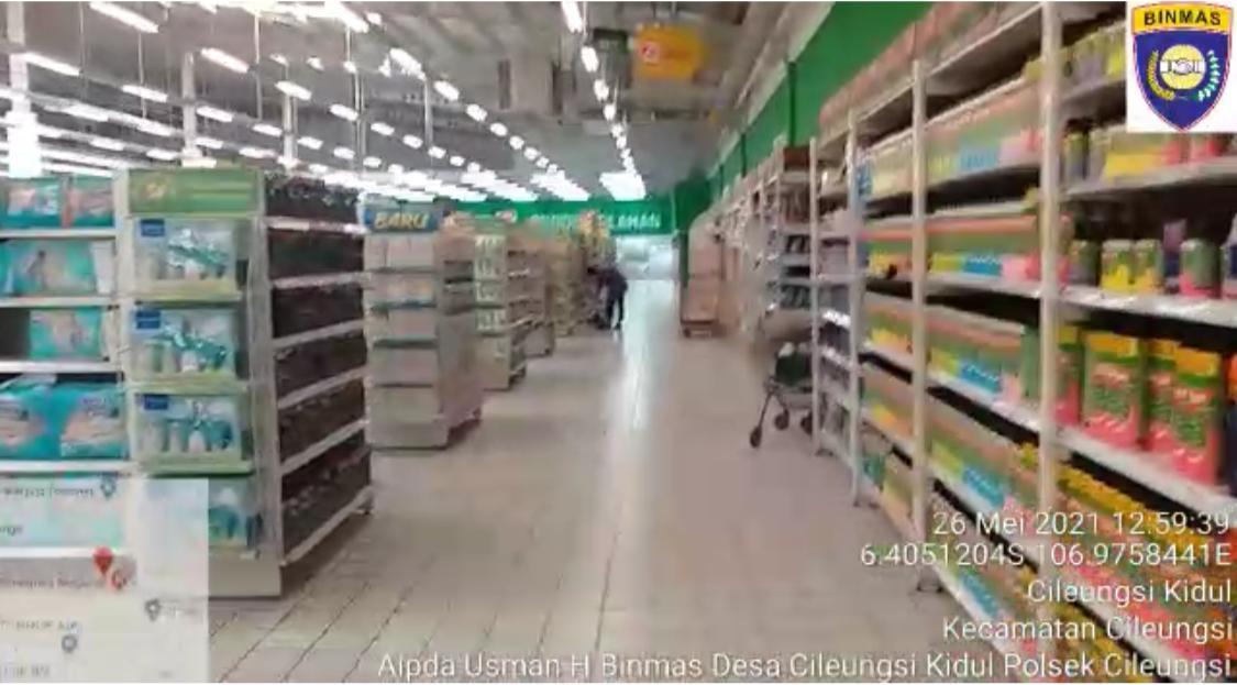 Pengunjung Pusat Perbelanjaan Diminta Terapkan Protokol Kesehatan 233