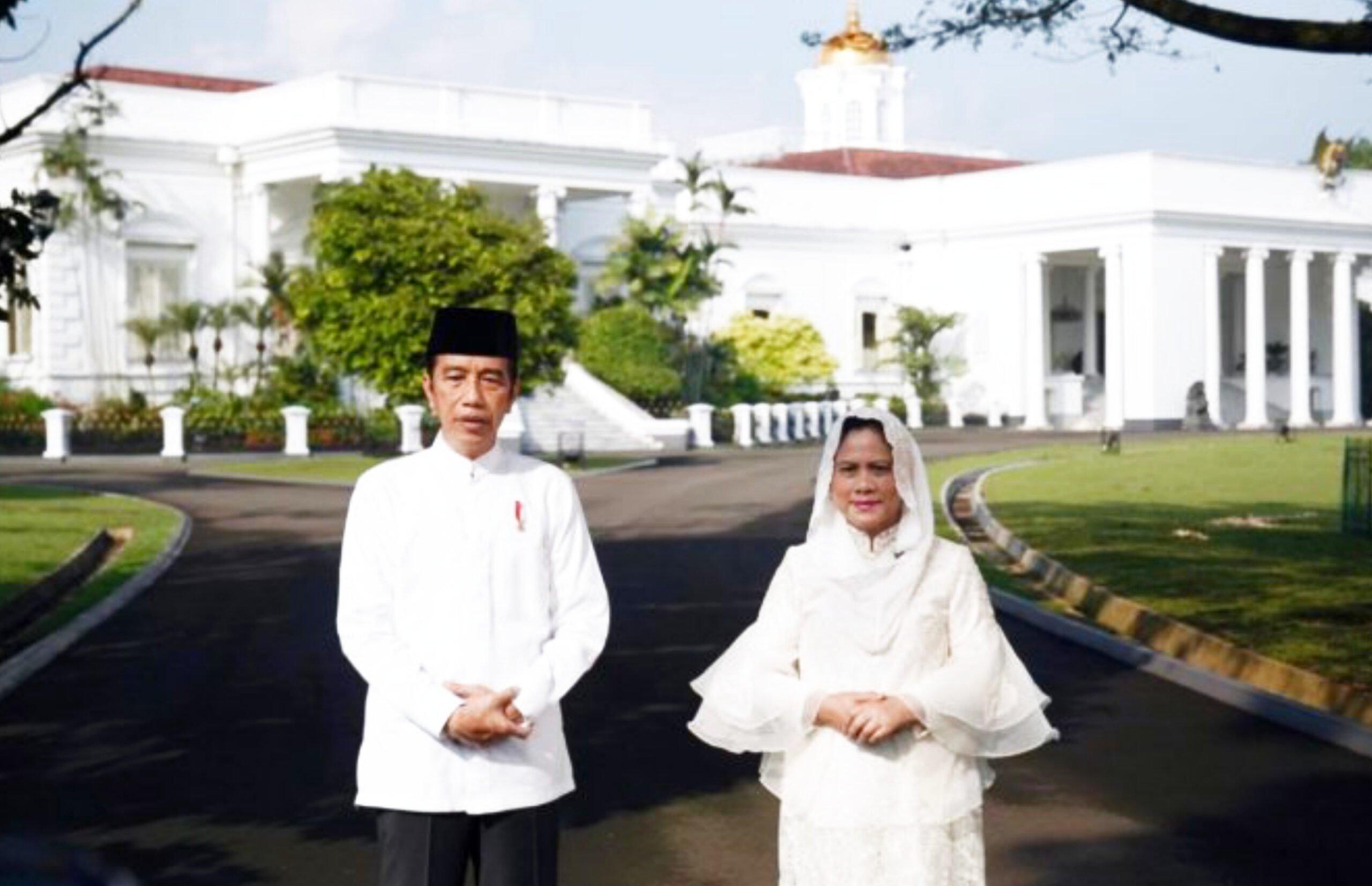 Presiden dan Ibu Negara Ucapkan Selamat Idulfitri 1442 Hijriyah 235