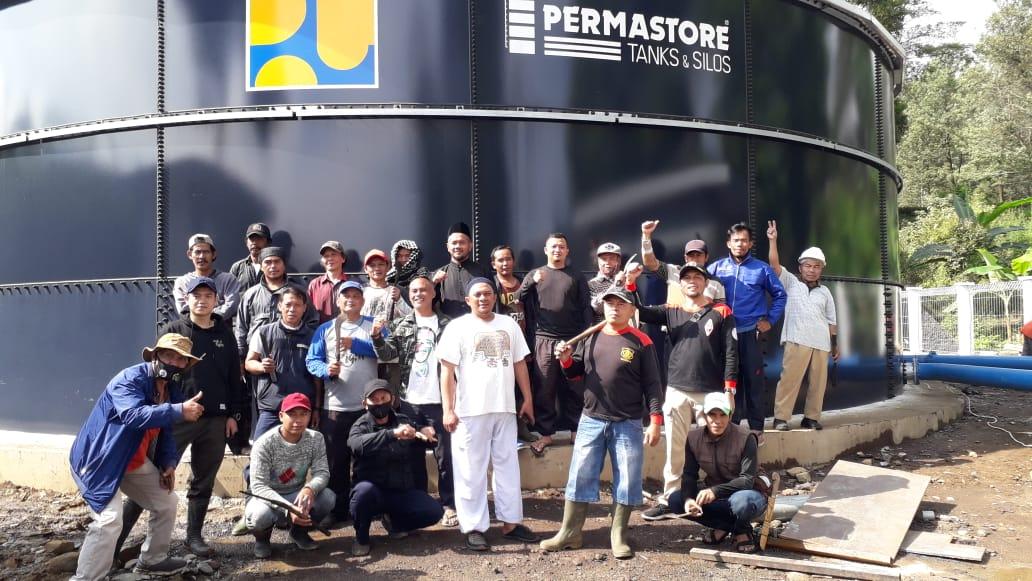 Aksi Bebersih Desak Kembalikan Kesucian Sumber Mata Air Ciburial 231