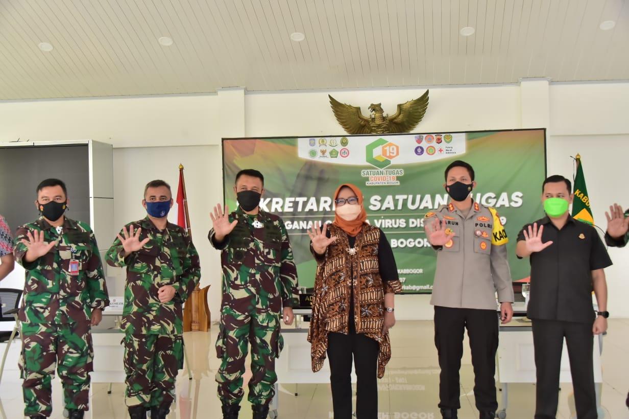 Pemkab Bogor Bangun Sinergi Dengan TNI Angkatan Laut