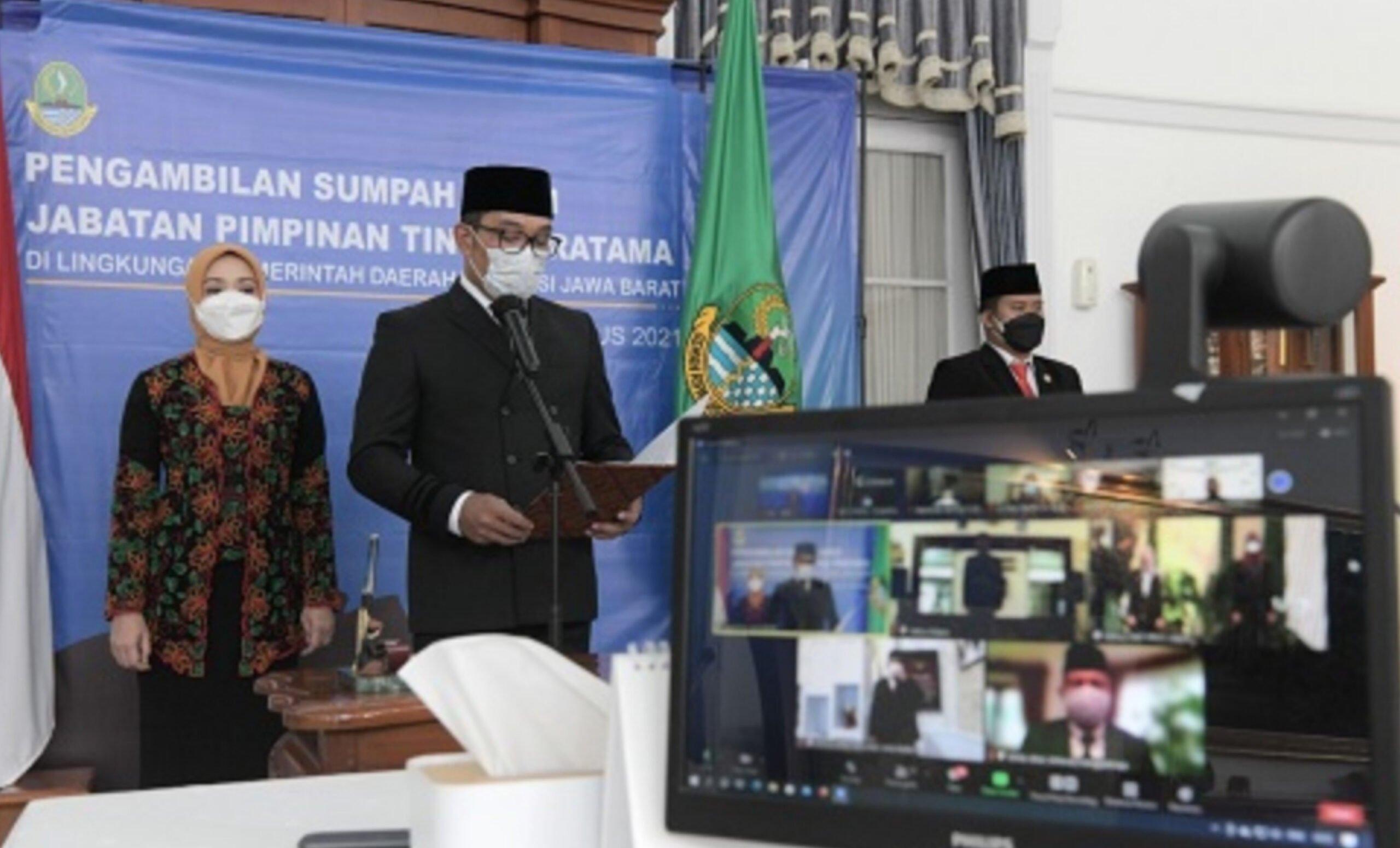 Gubernur Jawa Barat Rotasi 3 Pimpinan Tinggi Pratama 235